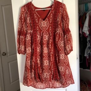 Red Soft Dress